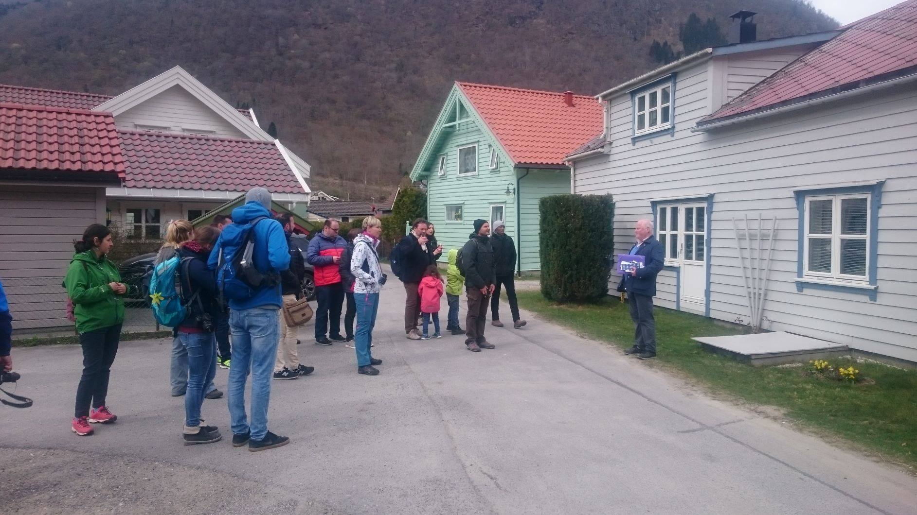 Guiding at Vikøyri